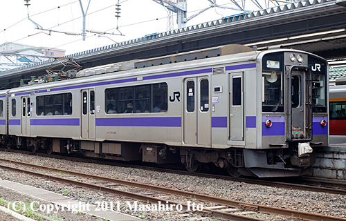 クモハ701-1005