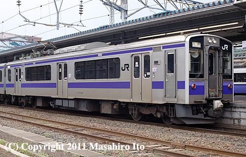 クモハ701-1006
