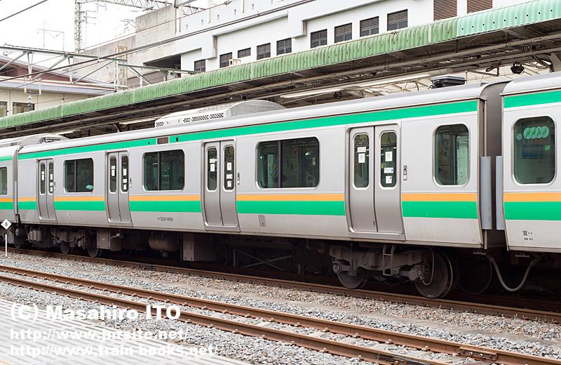 サハE231-6020