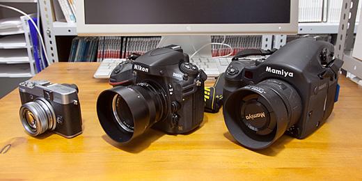 FUJIFILM X20とNikon D800E