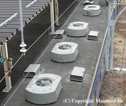 スシ24 506の屋根上機器