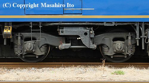 スシ24 506の台車(TR69系)