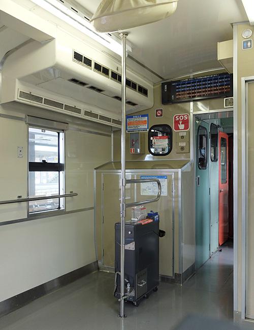 キハ41 2002の室内(乗務員室後部)