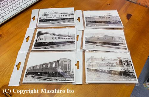 「トレインブックス」で用意している国鉄形車両の形式写真
