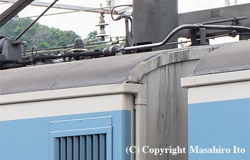 モハ114-1131の屋根材
