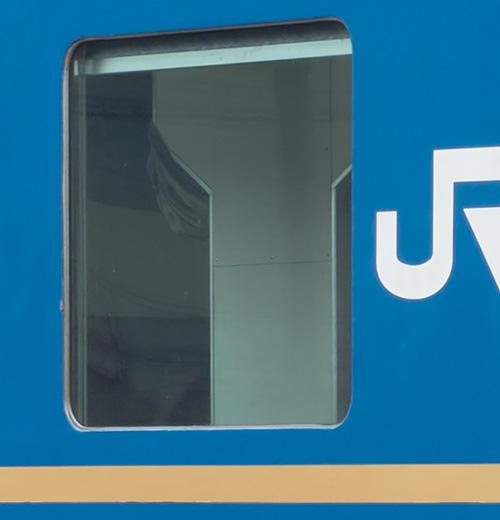 オハネフ25 13 の固定窓