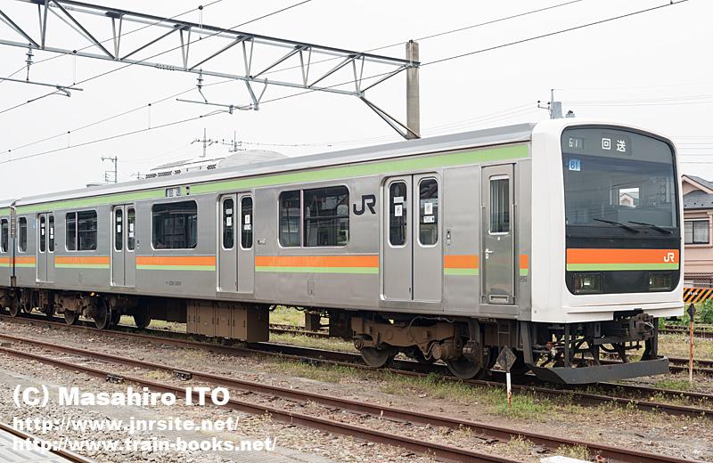クハ208-3001