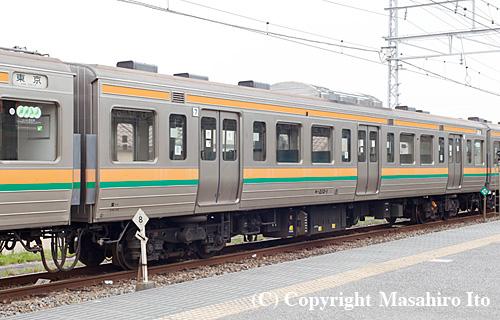 モハ210-1(湘南色時代)