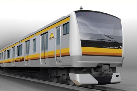 南武線に投入予定のE233系(イメージ)