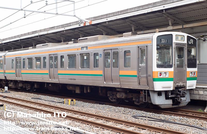 クハ210-5311