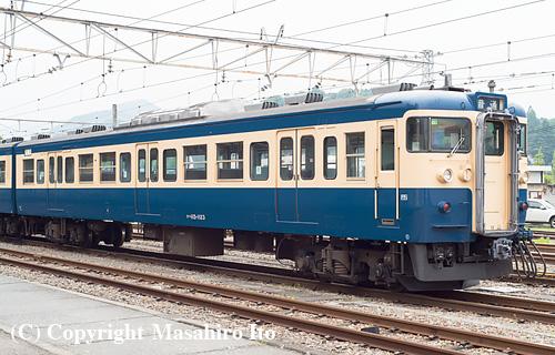クハ115-1123