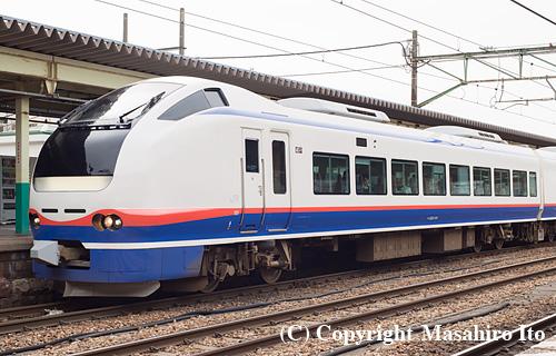 クハE653-1101
