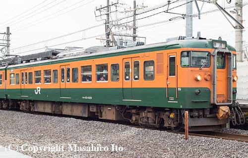 クモハ115-1029