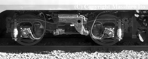 キサロハ182-5101 のTR69D台車