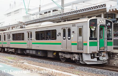 クモハ701-5509