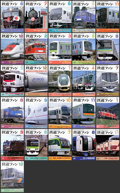 鉄道ファン(2001〜2004年)