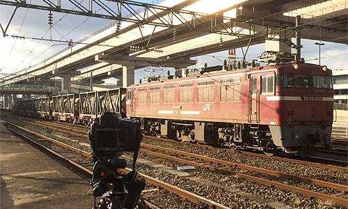 黒崎駅に停車中のED76形1000番代