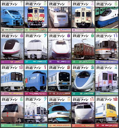 1995〜1996年の鉄道ファン