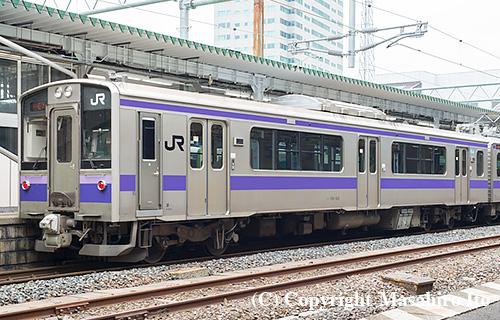 クハ700-1015