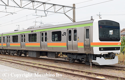クハ208-3505
