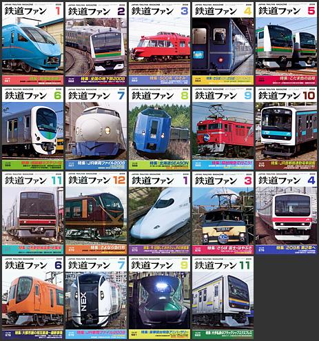 鉄道ファン (2008〜2009年)