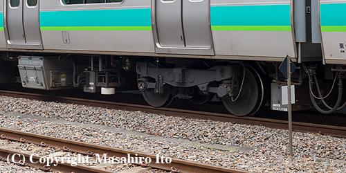 サハE231-145 のモニタリング装置
